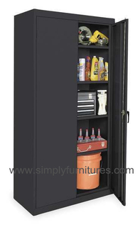 heavy duty storage warehouse cupboard