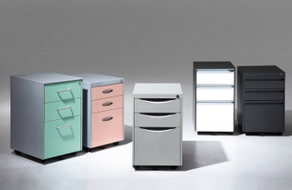 high quality colorful cabinet
