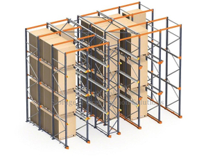 Tabacco Heavy Duty Storage Industrial Racking FILO System - Drive In Pallet Racking