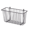 Hanging metal wire baskets