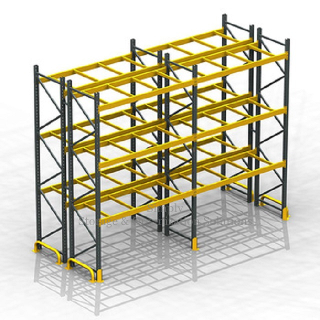 Chemical Raw Material Heavy Duty Storage Racks 1500lbs