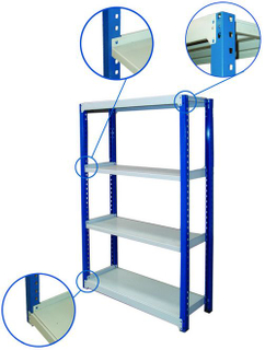 Storage Shelf for Warehouse