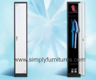 single door metal wardrobe