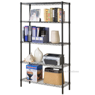 Five Layers Storage Rack In Black