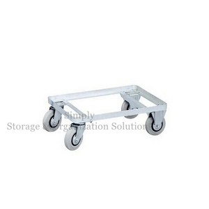 High Quality Polished Stainless Steel Dolly Frame Trolley
