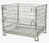 Euro Style Wire Mesh Pallet Containers with Front Drop Gate