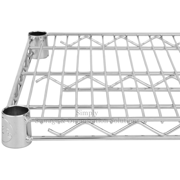 Food Processing Environment Organizer Multiple Layers Steel Shelves Storage Shelving