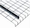 Zinc Plated 50x100 Steel Mesh Decking U Style Channel for Heavy Racks