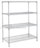 Bright Surface Stainless Steel Wire Shelving
